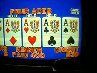 Lisa's Aces on a Dollar Bonus Poker Machine