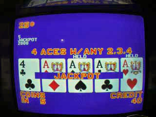 Aces with a kicker on a DDB machine for $500