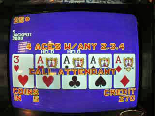 Aces with a kicker (Bob's 2nd of the trip)