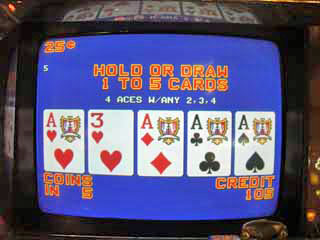 Aces with a kicker -- DEALT! (Bob's 3rd)
