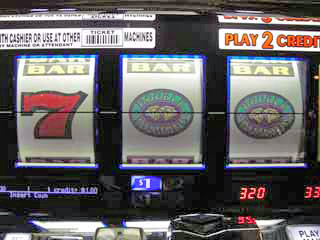 Only good hit on a dollar slot -- last hour of trip