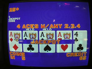 Bob's first set of Aces with a kicker