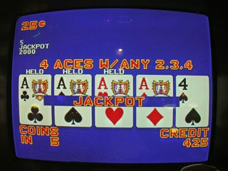 Bob's second set of Aces with...