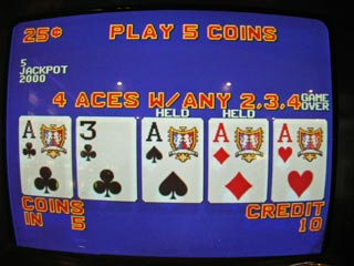 Bob's third set of Aces with...