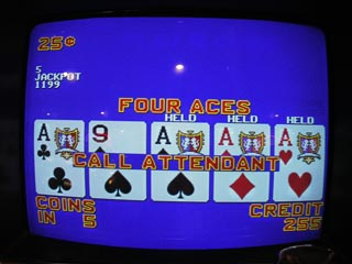 Note the 1199 -- Aces on a Triple Bonus Plus