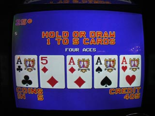 Not long after the SF, this set of Aces was dealt (DB)