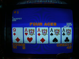 A set of Aces for Bob on a dollar DB, another first for him.