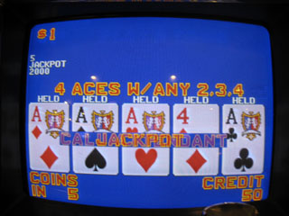 Shar's second Aces kicker for $2K, DEALT