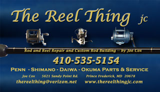The Reel Thing Rod and Reel Repair and Custom Rod Building by Joe Cox